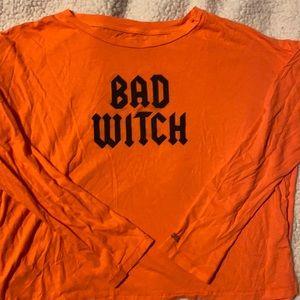 Vs Pink Halloween Bad Witch Crop🧙♀️🧙♀️